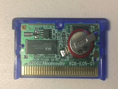 GBA Game Batterie