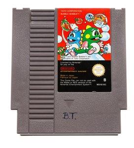 Bubble Bobble NES Cart