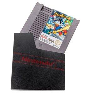NES Dust Cover mit Logo