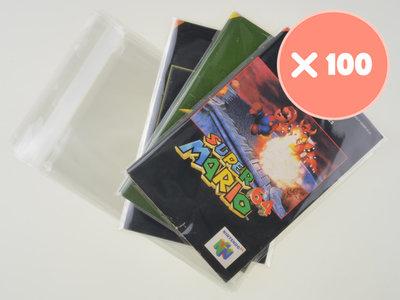100x Nintendo 64 Manual Bag